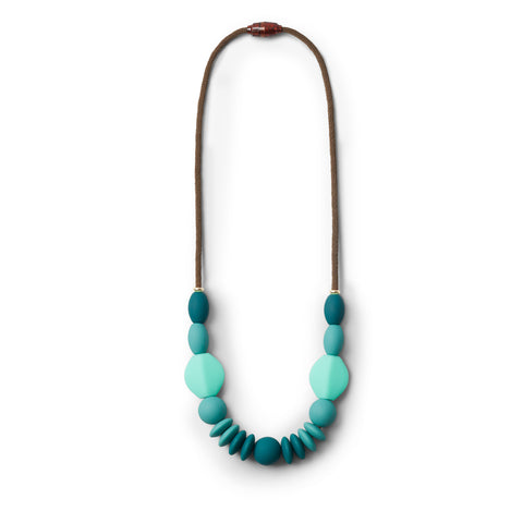 Teething Necklace - Spruce