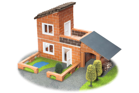Villa With Garage Building Kit