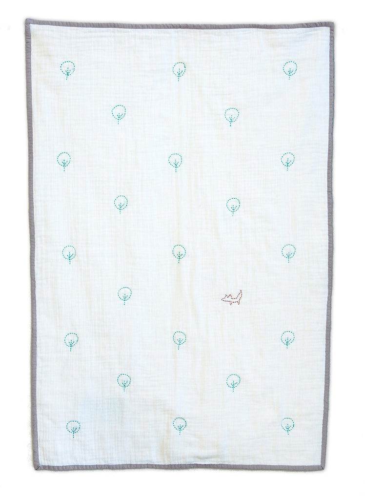 Forest & Fox Stroller Blanket