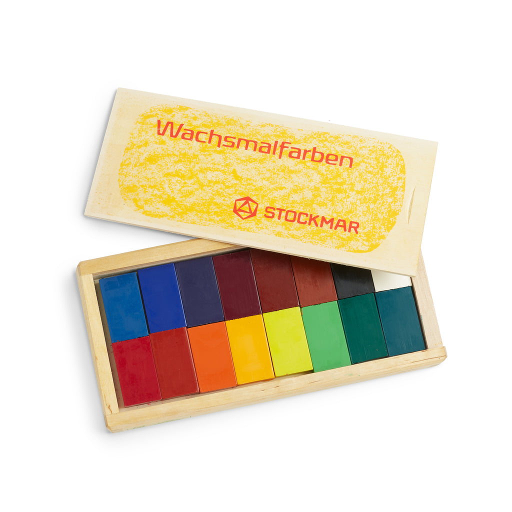 Wax Block Crayons