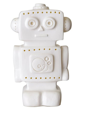 Robot Night Light - White