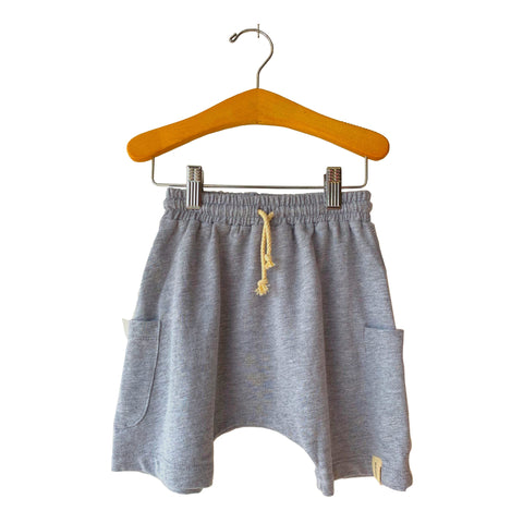 Basketball Short - Heather Grey