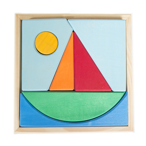 Sail Boat Puzzle