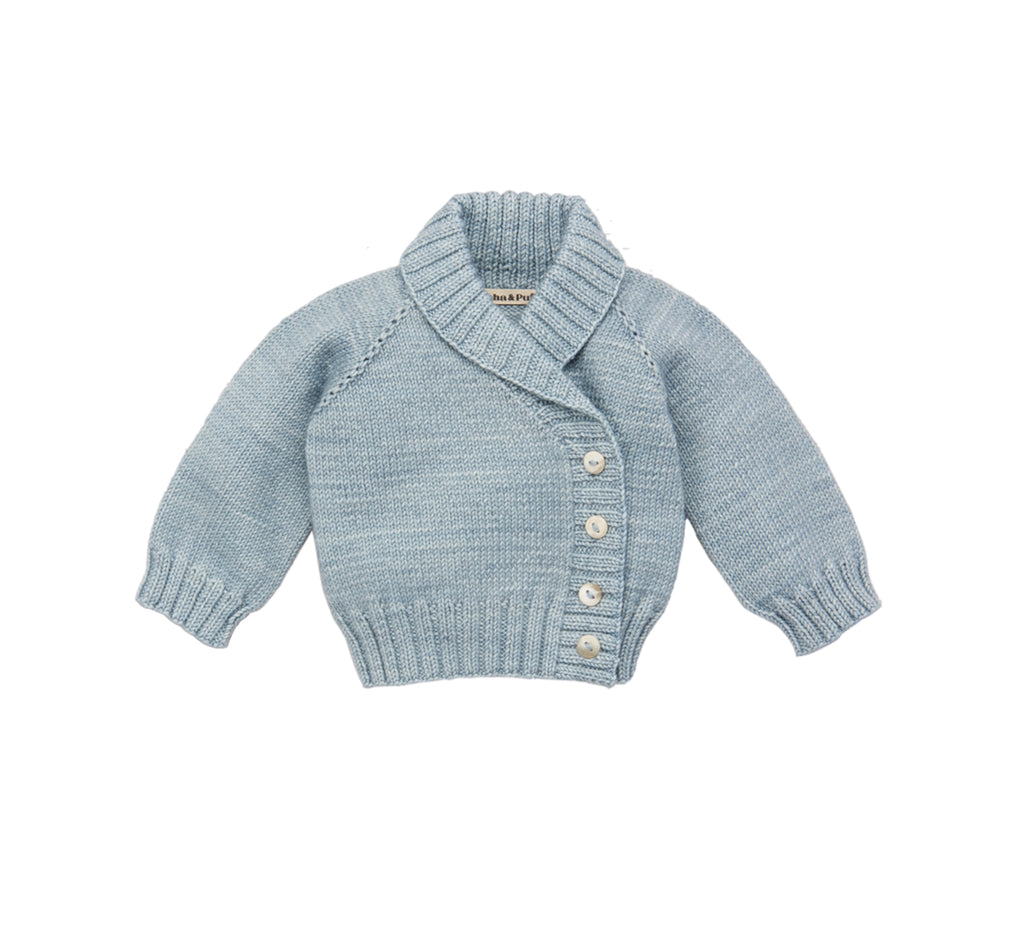 Salt Water Cardigan - Indigo