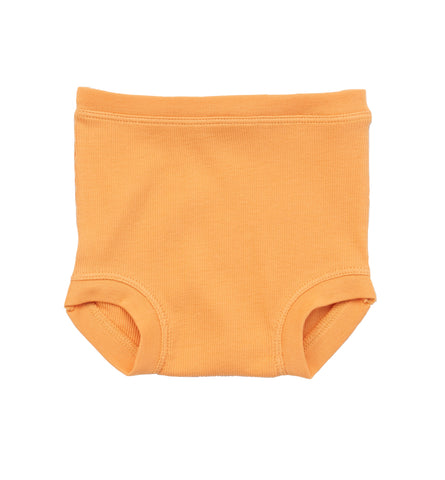 Ribbed Brief - Apricot