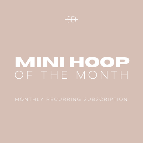 XL Hoop of the Month Club