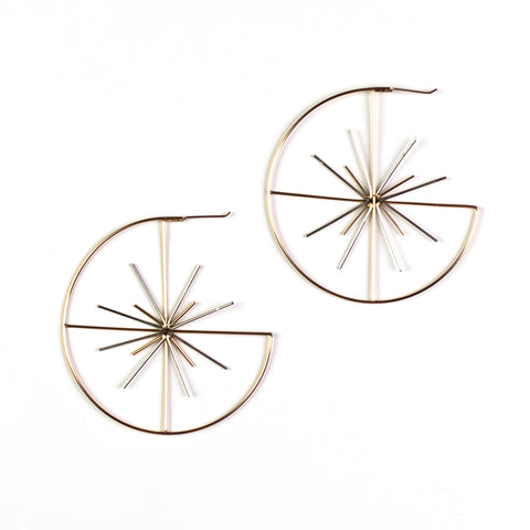 Tamara Rose Gold Hoop
