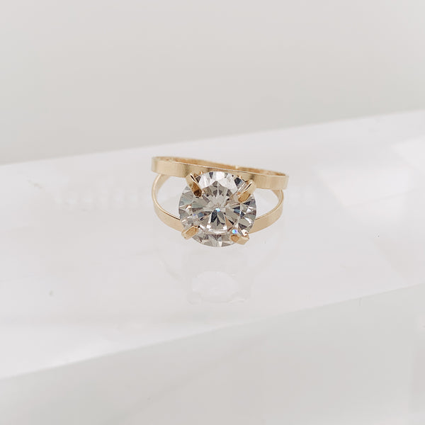 Clear Chelsie Ring
