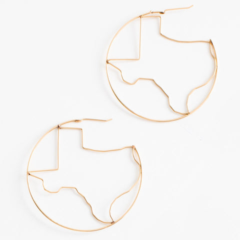 Texas Disc Necklace