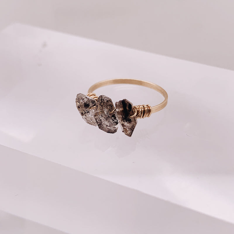 Elli Herkimer Diamond Ring