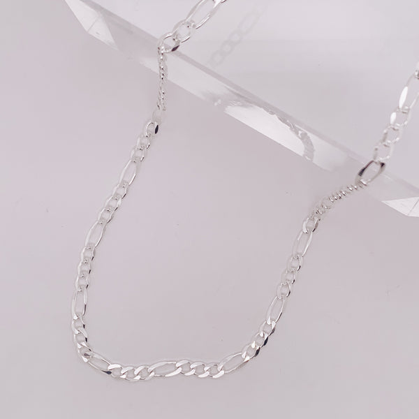 3mm Figaro Chain Necklace