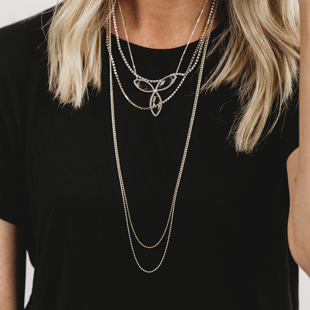 Poppy Long Length Chain