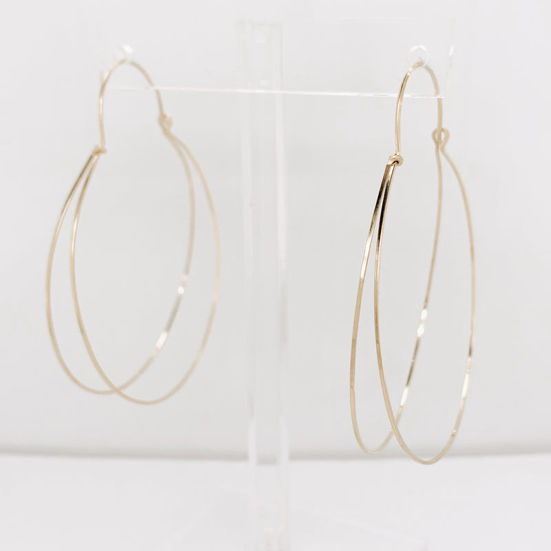 Lissa Large Hoop - November 2020