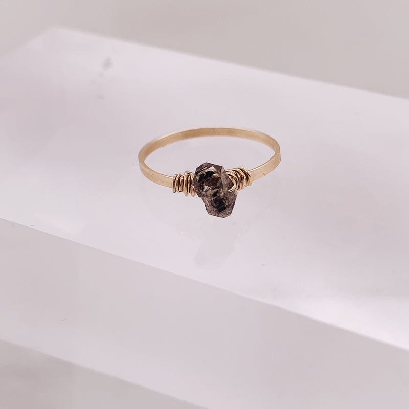 Lowe Large Herkimer Diamond Ring
