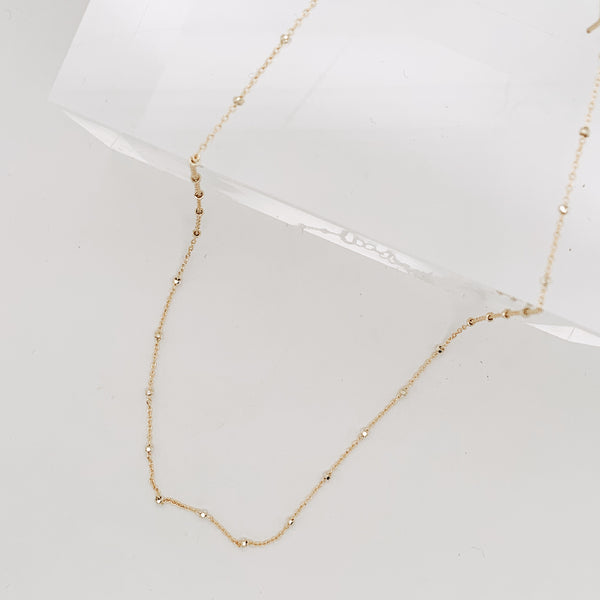 Brennon Satellite Chain Necklace