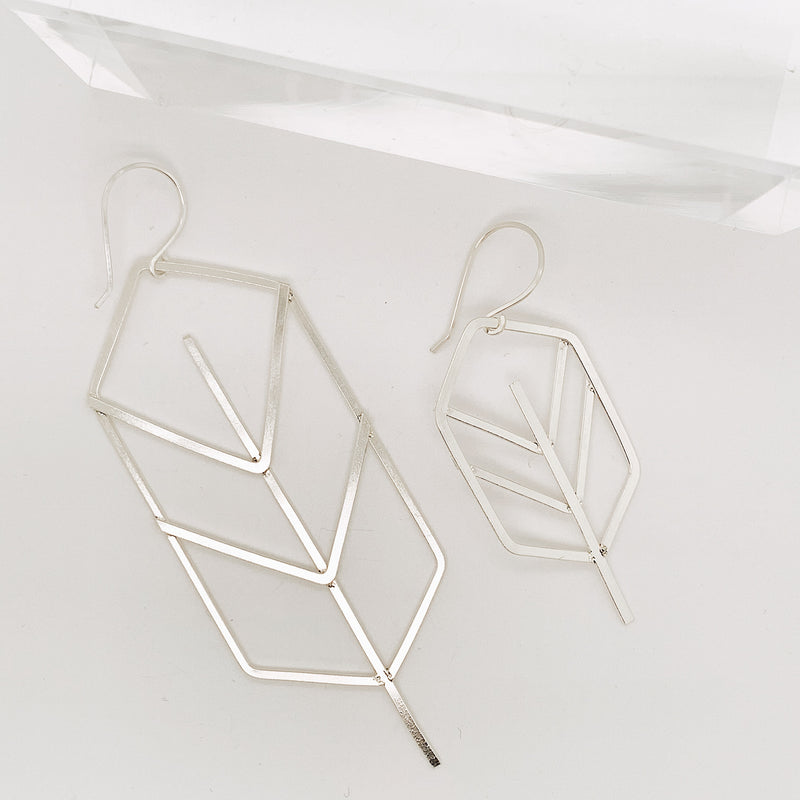 Shaye Large Leaf Earring