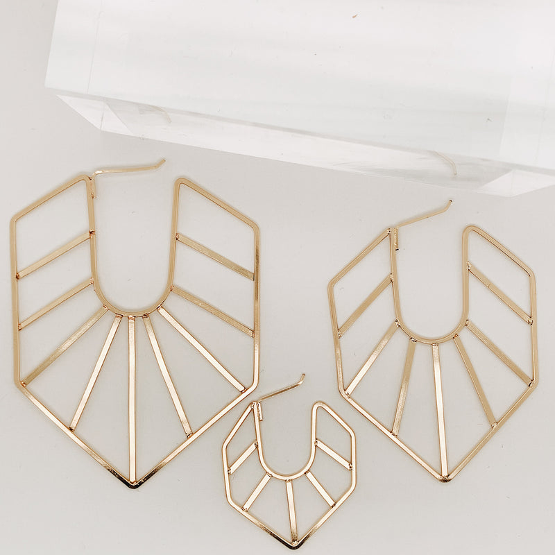 Arya Headdress Earring