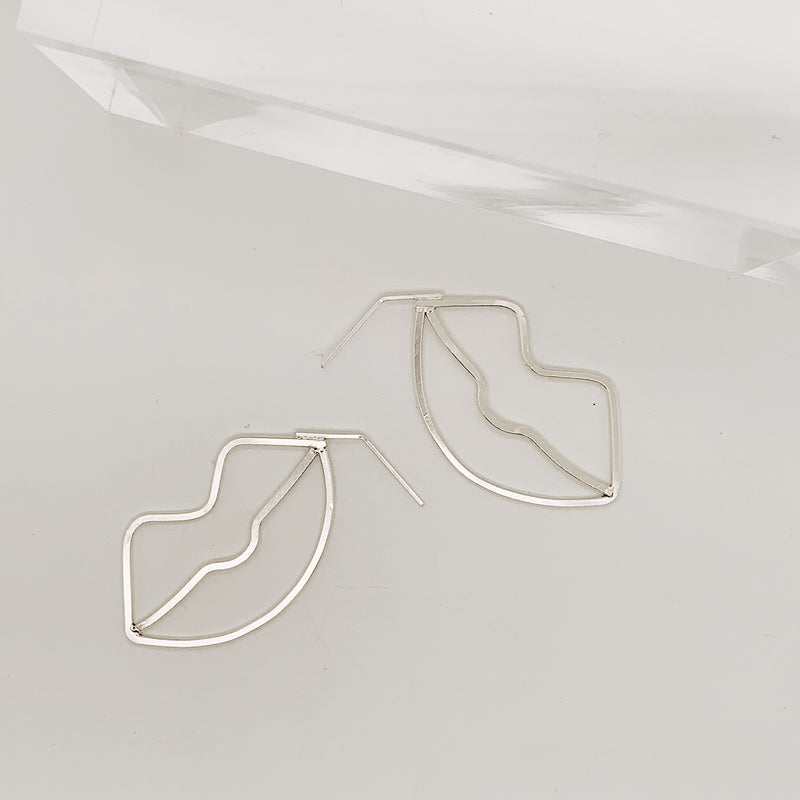 Azriel Small Lip Earring