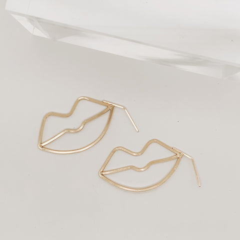 Stormie Diamond Bold Wire Hoop