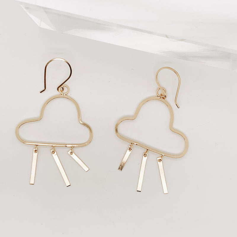 Briony Small Cloud Earring