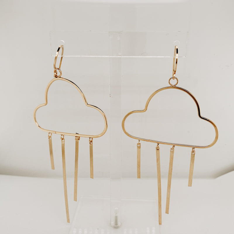Briony Large Cloud Earring