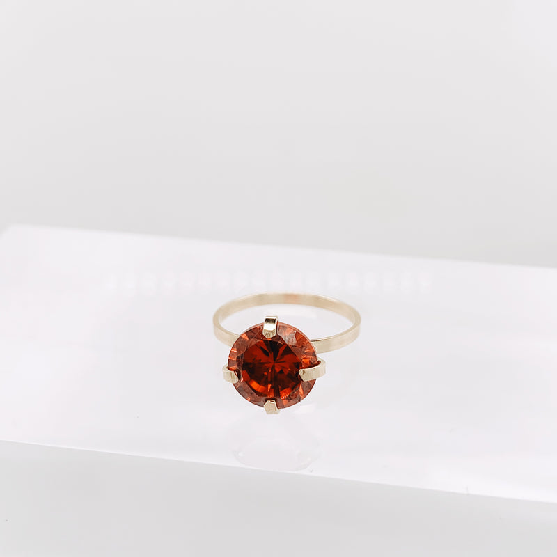 Scarlet Brunswick Ring
