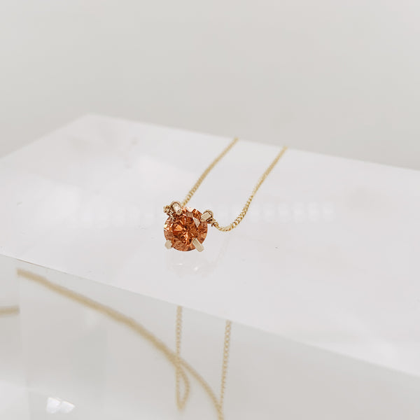 Topaz Baby Brunswick Necklace