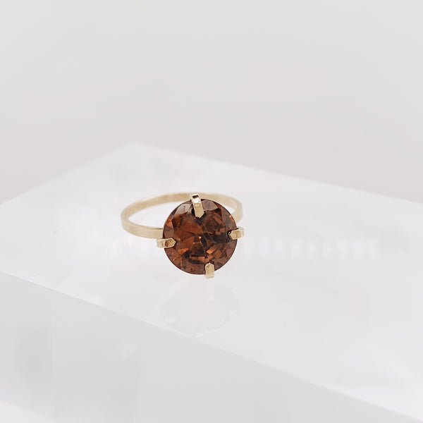 Topaz Brunswick Ring