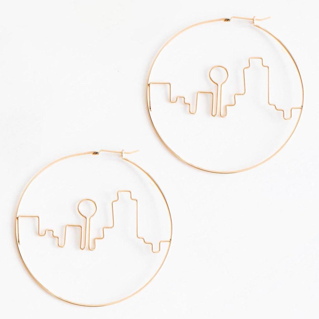 Dallas Skyline Earring