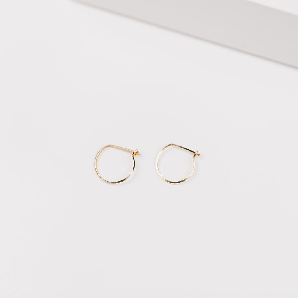 Erika Mini Thin Wire Hoop