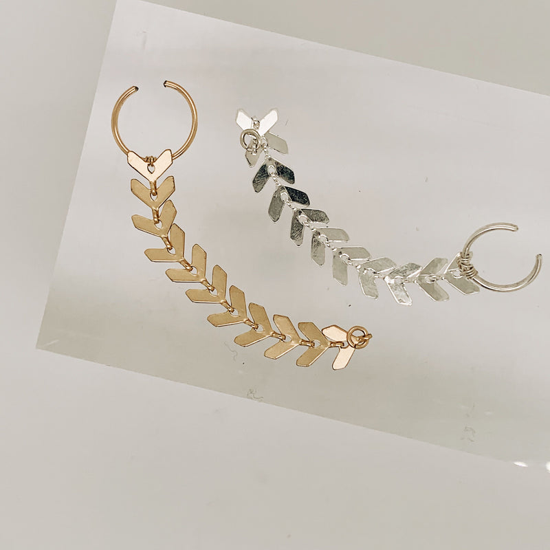 Heath Chain Ear Cuff