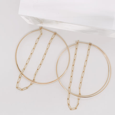 Dec 2019 - Sloane Small Hoop