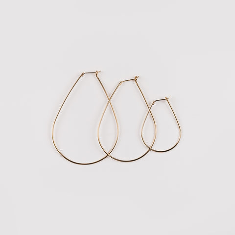 Sparrow Gold Hoop