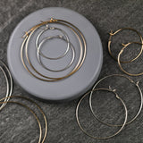 Reese Bold Wire Hoop