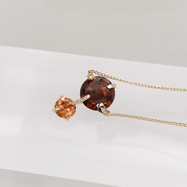 Topaz Jack Necklace