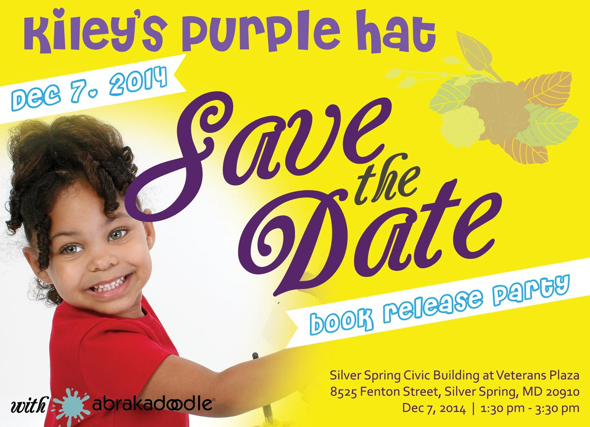 Purchase Kiley's Purple Hat Print book as well as the interactive iBook on the iBook Store
