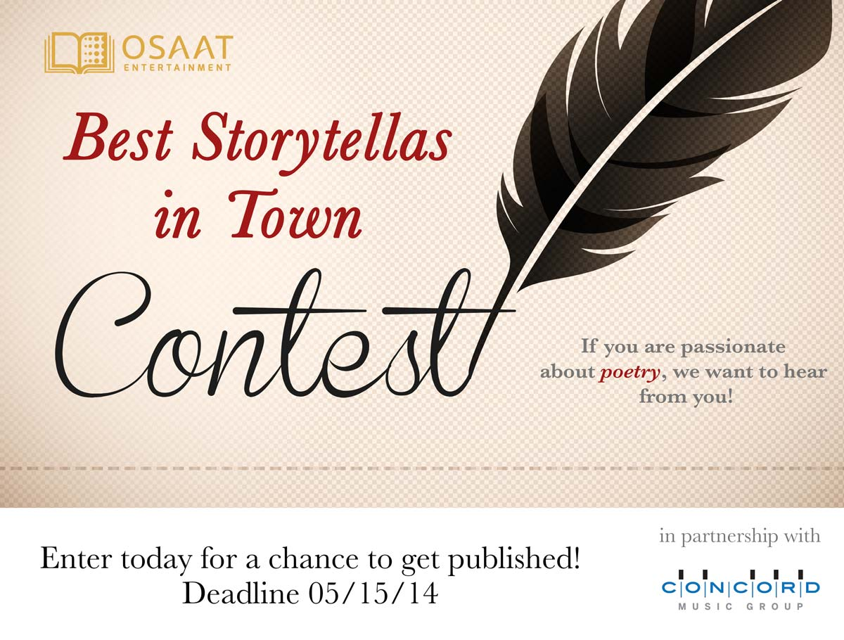 Banner for Best Storytellas in Town Contest for Poetry Month