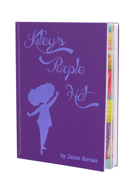 Book Cover: Kiley's Purple Hat Inside View