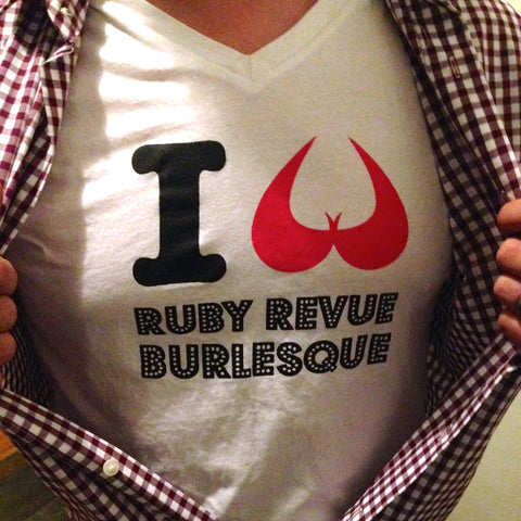 I Heart Ruby Revue Tee Shirt White