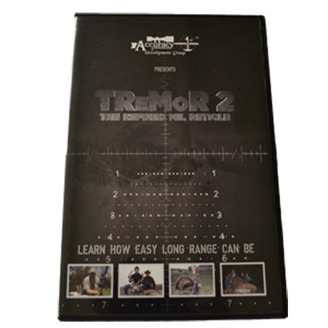Accuracy 1st Tremor 2 Instructional DVD