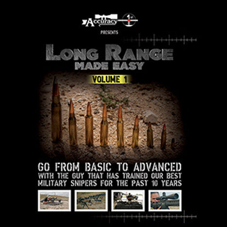 Accuracy 1st Long Range Made Easy DVD's – Scoped Out