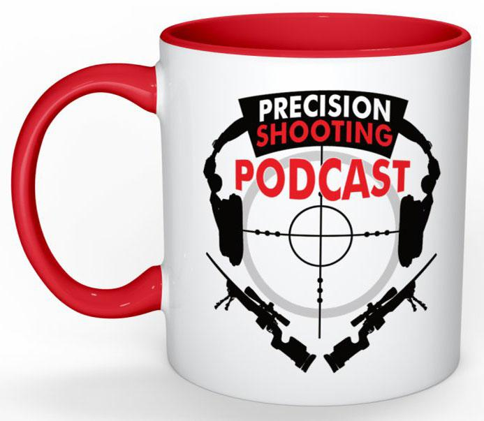 Precision Shooting Podcast Coffee Cup