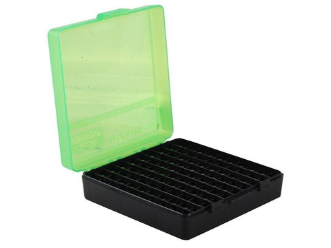 MTM Pistol Ammo Box - 9mm - 100 Round