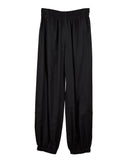 Genie Pant Raw Silk Black