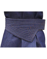 Reversible Asymmetrical Belt Indigo Denim