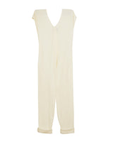 Origami Jumpsuit (Pre-Washed Cotton Gauze Vanilla)