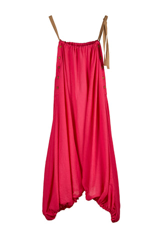 INFINITE PARACHUTE DRESS/SKIRT FUSCHIA