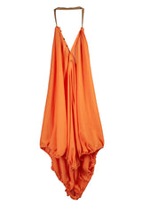 INFINITE PARACHUTE DRESS/SKIRT TANGERINE