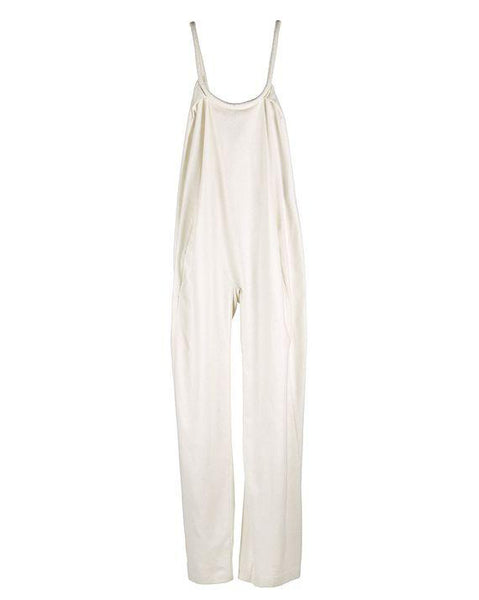 Swanfold Jumpsuit Raw Silk Ivory Cream Pre-Order