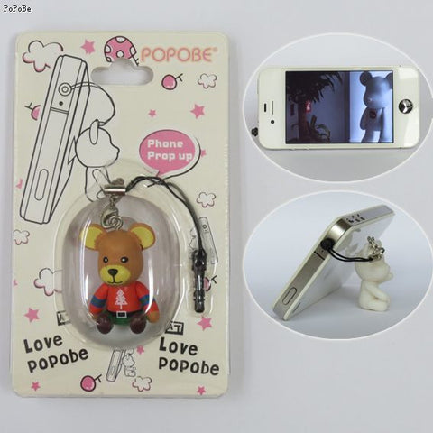 POPOBE Christmas Bear 2 inch Phone Prop-up